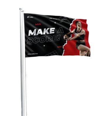 Custom Pole Flags 1